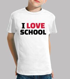 me encanta el colegio