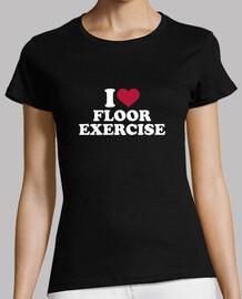 me encanta el ejercicio de piso