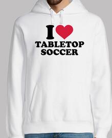 me encanta el fútbol de mesa