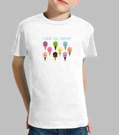 me encanta el helado