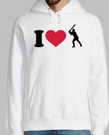 me encanta el jugador de beisbol