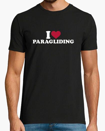 Camiseta me encanta el parapente