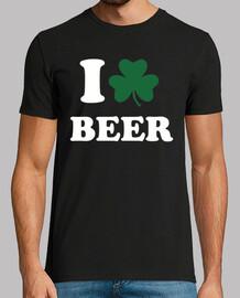 me encanta el trébol de la cerveza