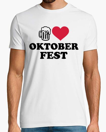 Camiseta me encanta la cerveza oktoberfest
