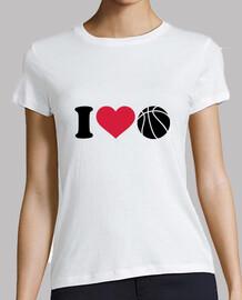 me encanta la pelota de baloncesto