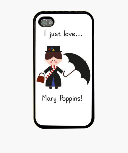 Funda iPhone me encanta mary poppins