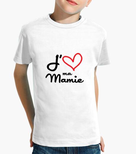 Ropa infantil Me encanta mi abuela / abuelo / la abue