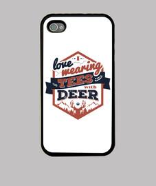 me encanta que llevan las camisetas con los ciervos iphone 4