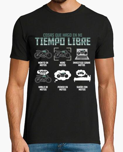 Camiseta Me Encantan las Motos