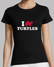 Me encantan las tortugas