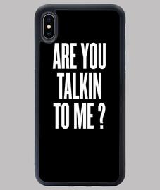 me estás hablando - negro