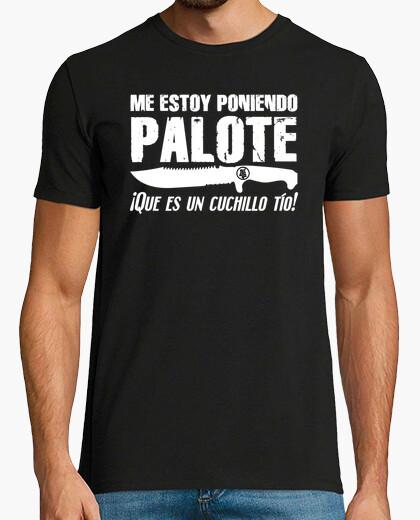 Camiseta Me Estoy Poniendo Palote