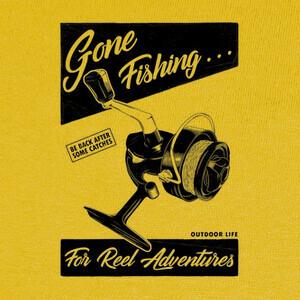 Camisetas Me fui a pescar