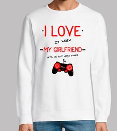 Me gusta mi novia (geek gamer gaming