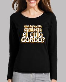 ¿Me hace esta camiseta el culo gordo?