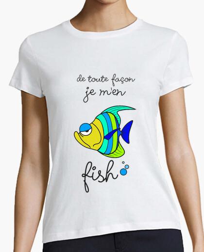 Camiseta me hombres peces
