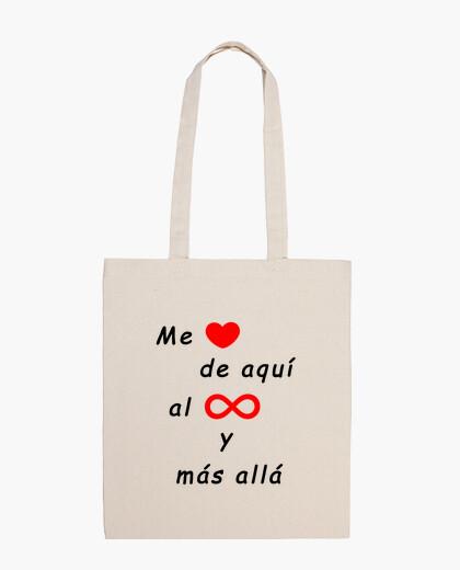 Bolsa Me quiero hasta el infinito