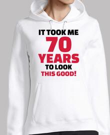 Me tomó 70 años para lucir tan bien