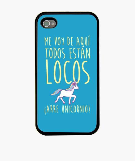 Funda iPhone Me voy ... ¡Arre unicornio!