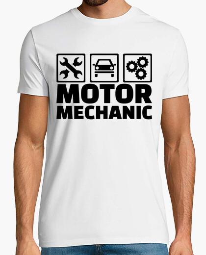 Camiseta mecánico del motor