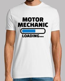 mecánico motor de carga