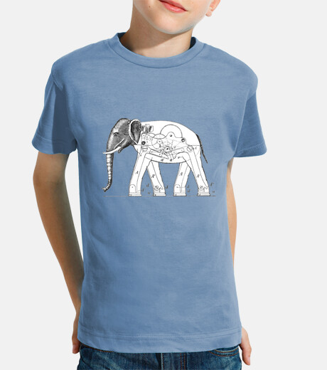 Camiseta Mechanical Elephant