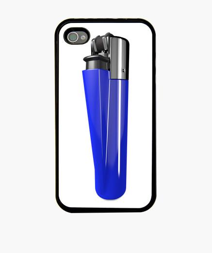 Funda iPhone Mechero azul marino