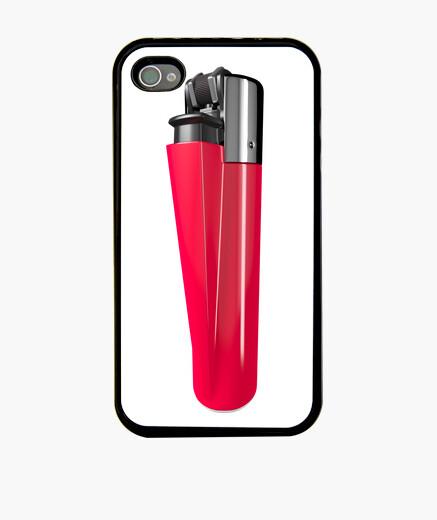 Funda iPhone Mechero rojo