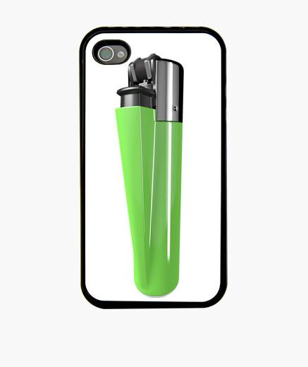 Funda iPhone Mechero verde