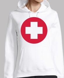 médico médico de la cruz roja
