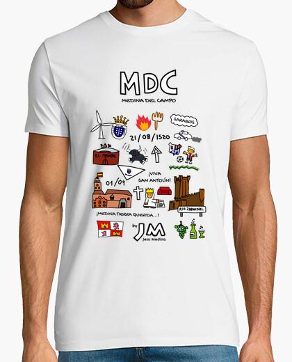 Medina del campo (black text) - jesu medina t-shirt