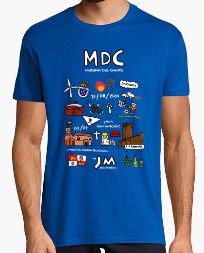 Medina del campo (white text) - jesu medina t-shirt