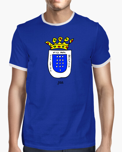 Medina shield field (blue) t-shirt