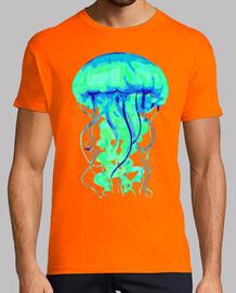 medusa (blu / verde)