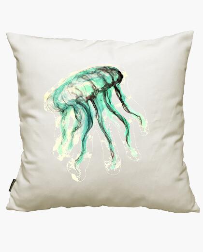 Housse de coussin méduse