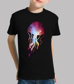 meduse cosmiche - t-shirt del bambino / a