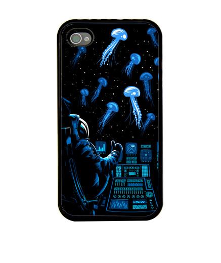 Voir Coques iPhone espace/astronaute
