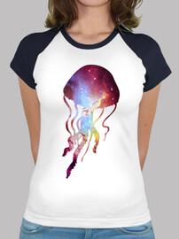 méduses cosmiques - shirt  femme