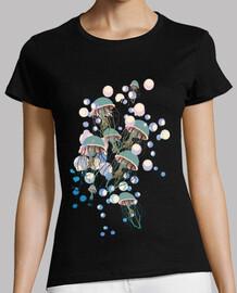 méduses et bulles