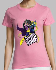 mega ploufman and ploufgirl de yue - camiseta mujer