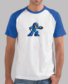 Megaman Disparo Pixel Retro