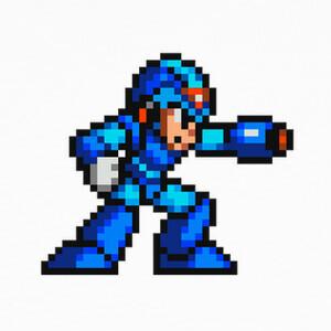 Camisetas Megaman Pixel