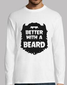 meglio con la barba - ragazzo lungo