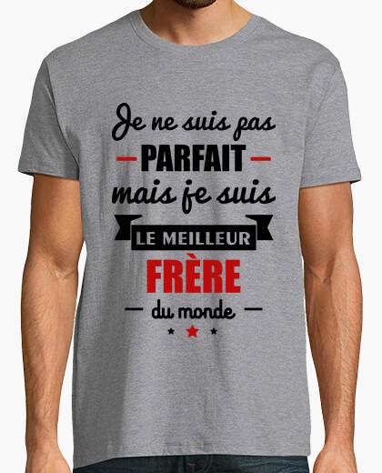 Camiseta meilleiur hermano del mundo