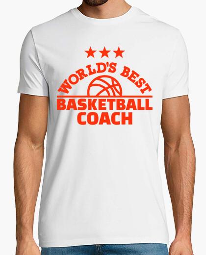Tee-shirt meilleur entraîneur de basket-ball monde