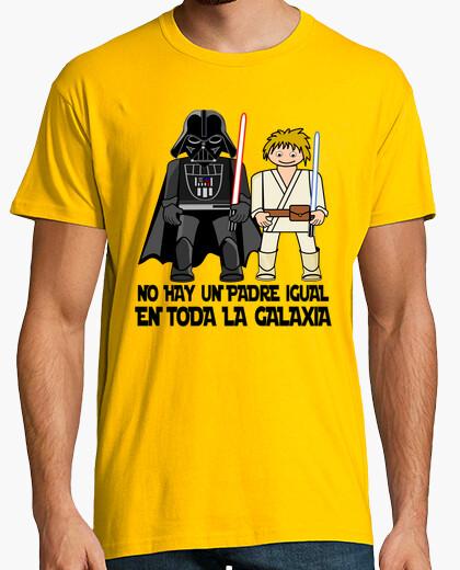 Tee-shirt meilleur père de la galaxie