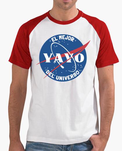 Tee-shirt meilleur yayo nasa blanco