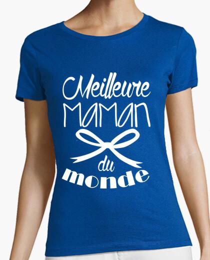 Tee-shirt Meilleure maman du monde