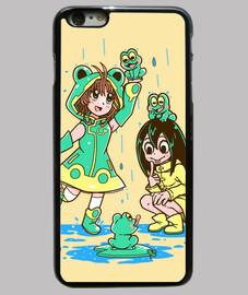 meilleures filles de grenouille - cas de téléphone