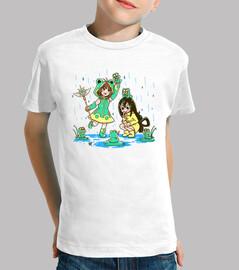 meilleures filles de grenouille - chemise d'enfants